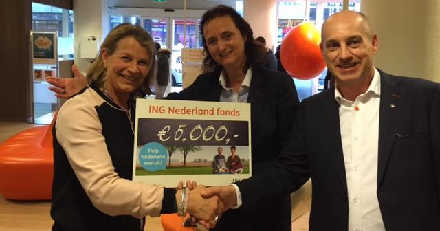 Kast van Lotje wint 1st prijs in centrum Den Haag
