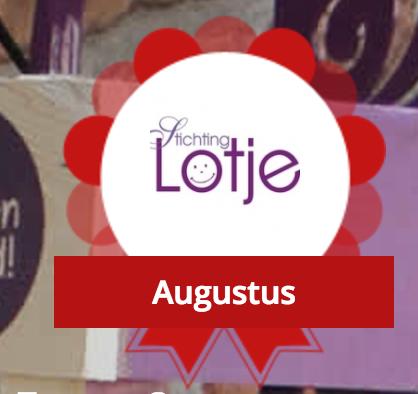 Stichting Lotje is 'Initiatief van de maand' MAEX