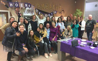 5 oktober Vrijwilligersdiner Stichting Lotje, stevig netwerk in de Den Haag