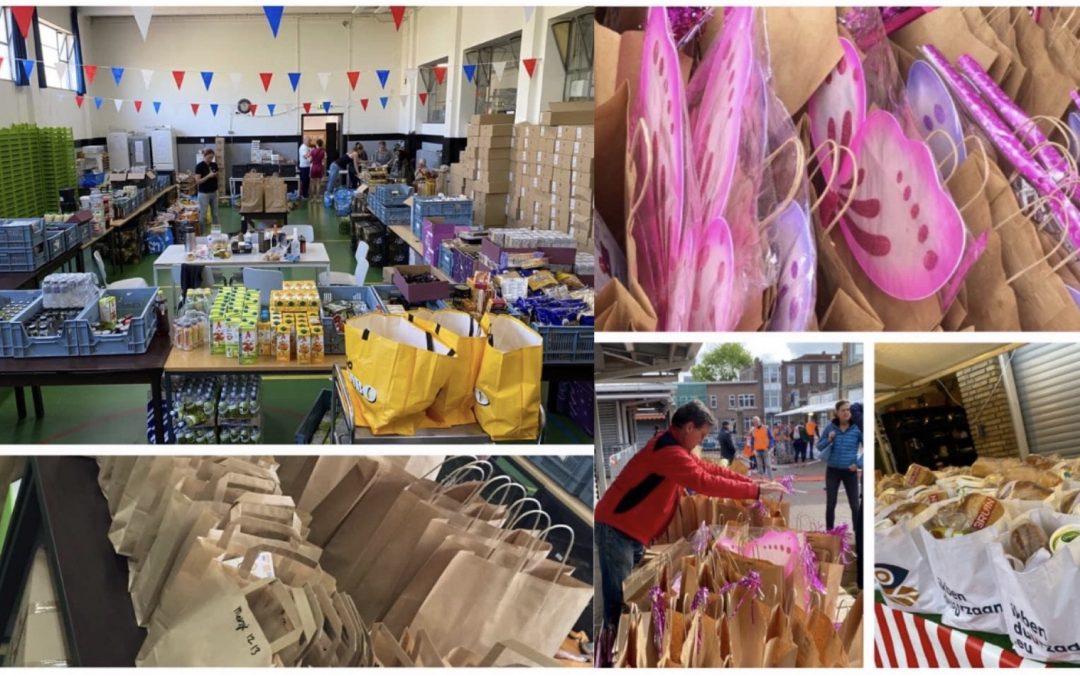 Knutselpakketten bij Haagse voedselbanken